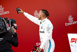 May 13, 2018 - Barcelona, Spain - Motorsports: FIA Formula One World Championship 2018, Grand Prix of Spain, ..#44 Lewis Hamilton (GBR, Mercedes AMG Petronas Motorsport) (Credit Image: © Hoch Zwei via ZUMA Wire)