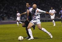 Fotball<br /> Frankrike 2004/05<br /> Istres v Lyon<br /> 23. oktober 2004<br /> Foto: Digitalsport<br /> NORWAY ONLY<br /> CRIS (LYON) / DEJAN ILIC (IST)