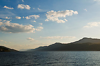 Waters and hills of Loch Ness, Scotland