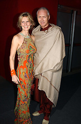 """Fashion designer LINDKA CIERACH  and LANCELOT PEAWHISTLE at the 10th annual British Red Cross London Ball.  This years ball theme was Indian based - """"Yaksha - Yakshi: Doorkeepers to the Divine"""" and was held at The Room, Upper Ground, London on 1st December 2004.  Proceeds from the ball will aid vital humanitarian work, including HIV/AIDS projects that the Red Cross supports in the UK and overseas.<br /><br />NON EXCLUSIVE - WORLD RIGHTS"""