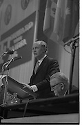 Fianna Fail Ard Feis RDS.<br /> 1971.<br /> 20.02.1971.<br /> 02.20.1971.<br /> 20th February 1971.<br /> The Fianna Fail Ard Fheis was held at the R.D.S. in Dublin. the keynote address was given by party leader and Taoiseach,Jack Lynch TD.