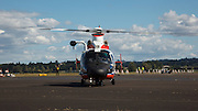 Coast Guard Eurocopter HH-65 Dolphin at Warbirds Over the West.