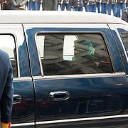 NLD/Amsterdaml/20181121 - Koningspaar ontvangt President Singapore, president Halimah Yacob