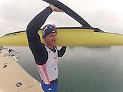Caversham, Great Britain,   Matt LANGRIDGE,  .  November sculling Test and Pairs race.  Caversham Lake, GB Rowing,  Training Centre.  Thursday 17/11/2011 [Mandatory Credit. Peter Spurrier/Intersport Images]