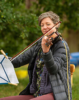 Real String Quartet   at the Also Festival Park Farm, Compton Verney, Warwick 29th aug 2020 photo by Mark Anton Smith