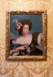 Portrait of SophieDorothea at The Celle Palace or Celle Castle in Celle, Lowery Saxony, Germany