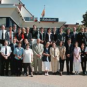 Rabobank Huizen, groepsfoto personeel