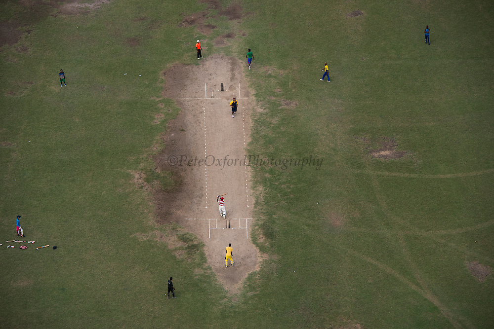 Cricket match<br /> East of Georgetown<br /> GUYANA<br /> South America