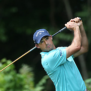 Jonathan Byrd, USA, in action during the first round of the Travelers Championship at the TPC River Highlands, Cromwell, Connecticut, USA. 19th June 2014. Photo Tim Clayton