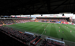 - Photo mandatory by-line: Alex James/JMP - Mobile: 07966 386802 - 25/01/2015 - SPORT - Football - Bristol - Ashton Gate - Bristol City v West Ham United - FA Cup Fourth Round