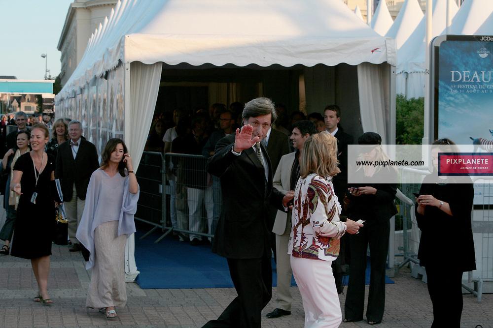 Patrick de Carolis - 33 ème Festival du cinéma américain de Deauville 2007 - Soirée d'hommage à Sydney Lumet - 7/9/2007 - JSB / PixPlanete