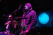 Death in June and Die weisse rose perform at Paddock club in Madrid