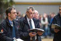 Jury: Schepers Boudewijn, Stefaan De Smet<br /> BWP hengstenkeuring 3de phase - Neeroeteren 2012<br /> © Dirk Caremans
