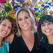 NLD/Amsterdam/20160823 - Seizoenpresentatie SBS 2016, Evelien de Bruijn, Selma van Dijk, en Sandra Schuurhof