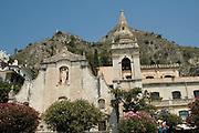 Chiesa di san Giuseppe, Taormina, sicily, Italy, July 2006