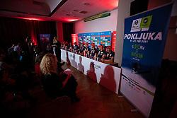 during press conference of Slovenian Nordic Ski Cross country team before new season 2019/20, on Novamber 12, 2019, in Petrol, Ljubljana, Slovenia. Photo Grega Valancic / Sportida