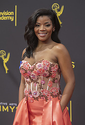 September 14, 2019, Los Angeles, California, United States of America: Amber Maher at the red carpet of the 2019 Creative Arts Emmy Awards on Saturday September 14, 2019 at the Microsoft Theater in Los Angeles, California. JAVIER ROJAS/PI (Credit Image: © Prensa Internacional via ZUMA Wire)