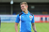 Craig Tanner was on loan at AFC Wimbledon, and faced them while on loan for Plymouth in the League 1 Play-Off Final prior the Pre-Season Friendly match between AFC Wimbledon and Reading at the Cherry Red Records Stadium, Kingston, England on 23 July 2016. Photo by Stuart Butcher.