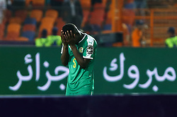 July 20, 2019 - Cairo, Egypt - Senegal's Idrissa Gueye dejected during the award ceremony after the end of the 2019 Africa Cup of Nations final soccer match between Senegal and Algeria at the Cairo stadium in Cairo, Egypt on July 19, 2019  (Credit Image: RealTime Images)