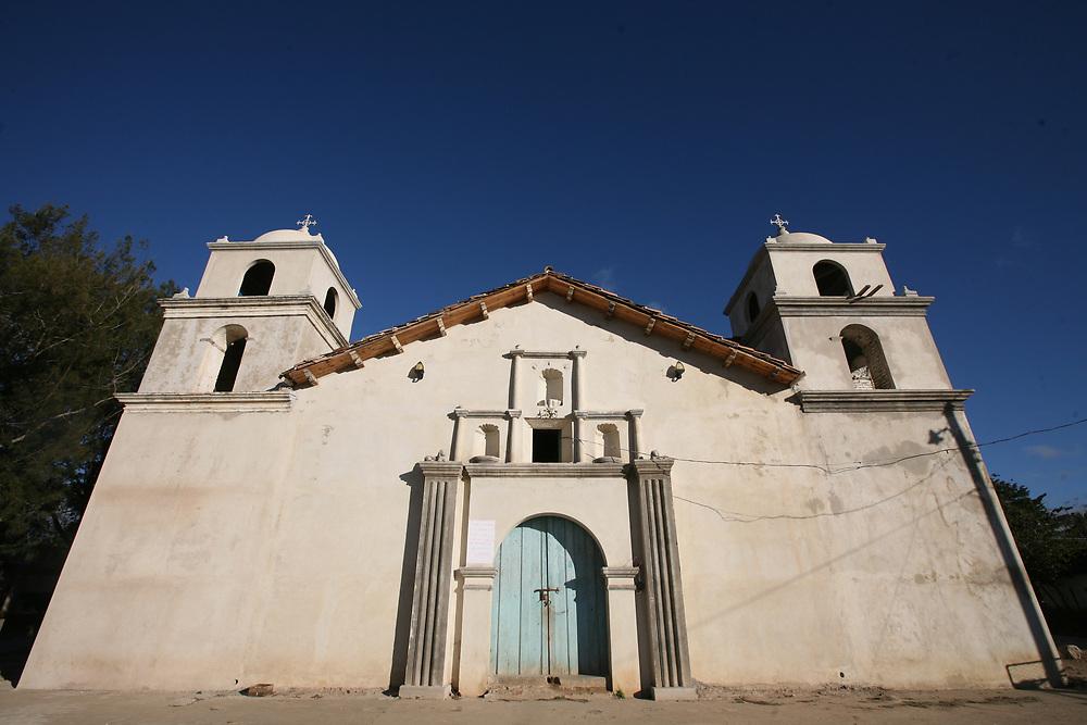 A church near San Juan, Intibucá.