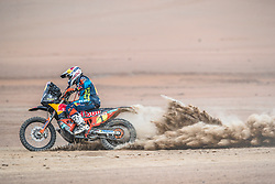 Matthias Walkner (AUT) of Red Bull KTM Factory Team races during stage 4 of Rally Dakar 2019 from Arequipa to Moquegua, Peru on January 10, 2019. // Flavien Duhamel/Red Bull Content Pool // AP-1Y3A65VCN2111 // Usage for editorial use only // Please go to www.redbullcontentpool.com for further information. //