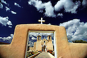 Taos Mission. Taos Pueblo, New Mexico, USA.