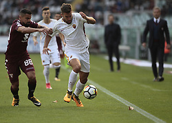 October 22, 2017 - Turin, Italy - Kevin Strootman during Serie A match between Torino v Roma, in Turin, on October 22, 2017  (Credit Image: © Loris Roselli/NurPhoto via ZUMA Press)