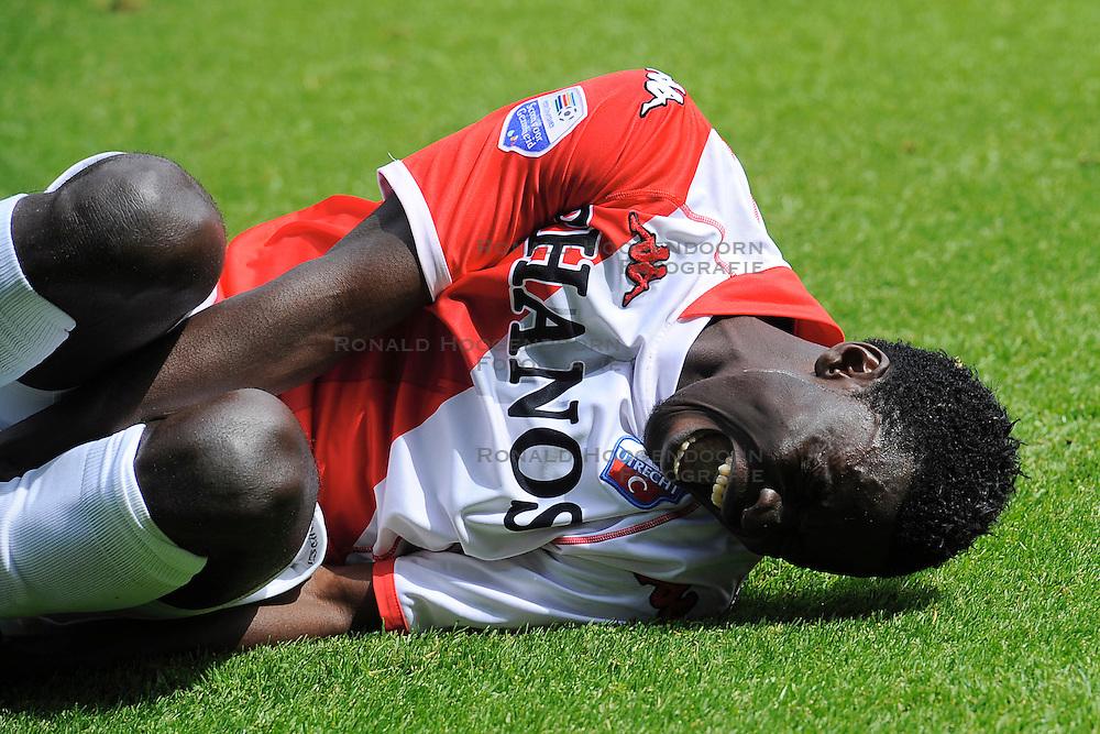 16-05-2010 VOETBAL: FC UTRECHT - RODA JC: UTRECHT<br /> FC Utrecht verslaat Roda in de finale van de Play-offs met 4-1 en gaat Europa in / Nana Asare<br /> ©2010-WWW.FOTOHOOGENDOORN.NL