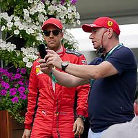 12.03.2020, Albert-Park, Melbourne, FORMULA 1 ROLEX AUSTRALIAN GRAND PRIX 2020<br /> , im Bild<br />Sebastian Vettel (GER#5), Scuderia Ferrari Mission Winnow<br /> <br /> Foto © nordphoto / Bratic