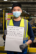 Inside Amazon MAN 3 Fulfilment Center. Worked at Amazon for 2yrs. From Hong Kong.