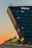 Westin Denver International Airport Hotel and Jeppesen Terminal, Denver, Colorado USA.