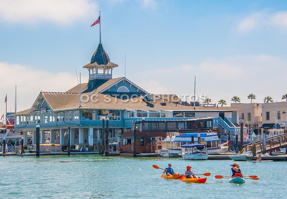 Kayaking by The Balboa Pavilion