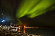 Northern Lights in Kaktovik, Alaska.