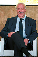 "Spainsh Vicente del Bosque during the presentation of ""Dia Cero"" the new tv show of Moviestar #0 at Telefonica Store in Madrid, Spain. October 20, 2016. (ALTERPHOTOS/Rodrigo Jimenez)"