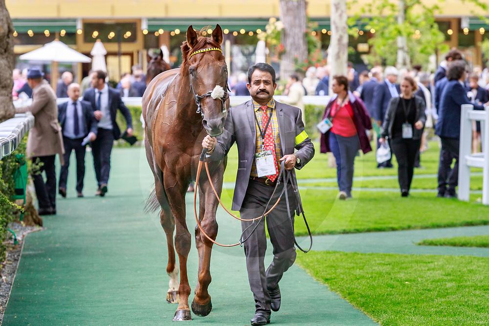 Zabeel Prince (A. Atzeni) wins Prix D'Ispahan Gr.1  at ParisLongchamp, France 26/05/2019 photo: Zuzanna Lupa