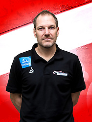 26.10.2018, Raiffeisen Sportpark, Graz, AUT, ÖHB, Fototermin Herren Nationalteam, im Bild Torwart Trainer Mattias Andersson (AUT) // during a Portrait Photoshoot of the Austrian men' s handball National Team at the Raiffeisen Sportpark, Graz, Austria on 2018/10/26. EXPA Pictures © 2018, PhotoCredit: EXPA/ Sebastian Pucher