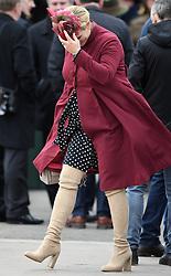 Ladies Day at The Cheltenham Festival, Cheltenham Racecourse, Cheltenham, Gloucestershire, on the 14th March 2018. 14 Mar 2018 Pictured: Zara Phillips, Zara Tindall. Photo credit: James Whatling / MEGA TheMegaAgency.com +1 888 505 6342
