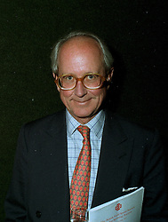 MR GERALD WARD, godfather of Prince William, at an auction in London on 21st May 1997.LYN 29 MO
