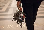Vatican Museums_Key keeper Gianni Crea