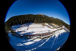 Arena Pokljuka during Men 15 km Mass Start at day 4 of IBU Biathlon World Cup 2015/16 Pokljuka, on December 20, 2015 in Rudno polje, Pokljuka, Slovenia. Photo by Urban Urbanc / Sportida