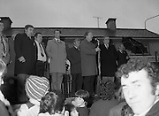 Image of Fianna Fáil leader Charles Haughey touring West Cork during his 1982 election campaign...04/02/1982.02/04/82.4th February 1982..In the dark:..Charles Haughey continues to appeal to the  West Cork electorate. ..