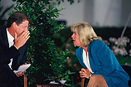 Vice President Al Gore and Tipper Gore at a ceremony at the White House<br />Photo by Dennis Brack