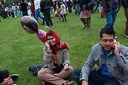 Weavers Fields, Bethnal green, London. Boishakhi Mela, celebration for Bangladesh New Year