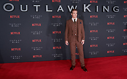 Outlaw King Premiere, Edinburgh, Friday 19th October 2018<br /> <br /> Outlaw King is a Netflix film and follows 14th century Scottish king Robert the Bruce prior to his coronation and through to his rebellion against the English, who at the time were occupying Scotland.<br /> <br /> Stars, crew and guests appear on the red carpet for the Scottish premiere.<br /> <br /> Pictured: Chris Pine<br /> <br /> Alex Todd   Edinburgh Elite media
