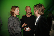 Natalia Vodianova, Justin Portman and Christopher Bailey, Burberry celebrates the opening of the Hockney exhibition and their 150th anniversary with a party at the National Portrait Gallery. 11 October 2006. -DO NOT ARCHIVE-© Copyright Photograph by Dafydd Jones 66 Stockwell Park Rd. London SW9 0DA Tel 020 7733 0108 www.dafjones.com