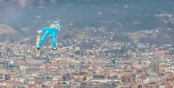 02.01.2016, Bergisel Schanze, Innsbruck, AUT, FIS Weltcup Ski Sprung, Vierschanzentournee, Training, im Bild Vladislav Boyarintsev (RUS) // Vladislav Boyarintsev of Russian Federation during his Practice Jump for the Four Hills Tournament of FIS Ski Jumping World Cup at the Bergisel Schanze, Innsbruck, Austria on 2016/01/02. EXPA Pictures © 2016, PhotoCredit: EXPA/ JFK