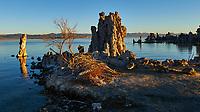 Mono Lake, South Tufa Area. Image taken with a Nikon D3 camera and 24 mm f/3.5 PC-E lens (ISO 200, 24 mm, f/16, 1/30 sec).