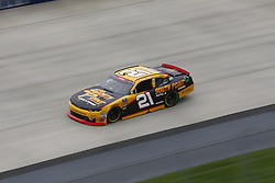 October 5, 2018 - Dover, Delaware, United States of America - Daniel Hemric (21) takes to the track to practice for the Bar Harbor 200 at Dover International Speedway in Dover, Delaware. (Credit Image: © Justin R. Noe Asp Inc/ASP via ZUMA Wire)