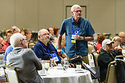 Reports from TMA's Medical Advisory Board followed by a question and answer session, photographed during The Myositis Association's Annual Patient Conference & 25th Anniversary Celebration, Saturday, Sept. 8, 2018, at the Louisville Marriott Downtown in Louisville, Ky. (Photo by Brian Bohannon)