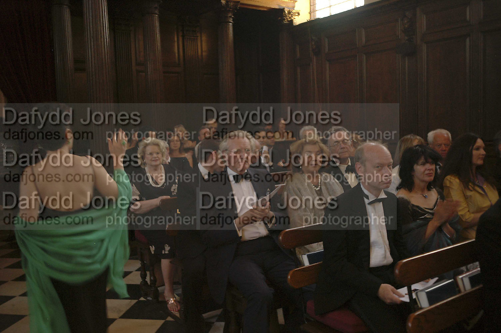 LORD HESELTINE, Fund for Refugees in Slovenia Gala Dinner, The Great Hall. Royal Hospital. Chelsea. 12 June 2006. ONE TIME USE ONLY - DO NOT ARCHIVE  © Copyright Photograph by Dafydd Jones 66 Stockwell Park Rd. London SW9 0DA Tel 020 7733 0108 www.dafjones.com